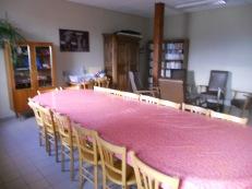 La salle à manger de la Roche des vents